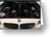 Bmw Classic Car Greeting Cards - Bmw . 7d9564 Greeting Card by Wingsdomain Art and Photography