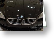 Bmw Emblem Greeting Cards - Bmw . 7d9566 Greeting Card by Wingsdomain Art and Photography