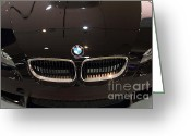 Bmw Emblem Greeting Cards - Bmw . 7d9574 Greeting Card by Wingsdomain Art and Photography