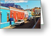Benjamin Matthijs Greeting Cards - Bo-Kaap Malayan Quarter Greeting Card by Benjamin Matthijs