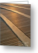 Harbourfront Greeting Cards - Boardwalk Greeting Card by Sebastian Musial
