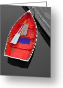 Crabbing Greeting Cards - Boat Greeting Card by Emmanuel Panagiotakis