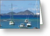 Desert Rat Photo Greeting Cards - Boats Doing Time Greeting Card by Robert Margetts