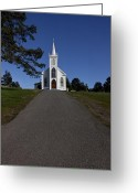 Faith Photo Greeting Cards - Bodega Church Greeting Card by Garry Gay