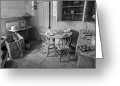 Ghost Town Greeting Cards - Bodie Ghost Town Kitchen Greeting Card by Scott McGuire