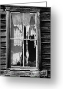 Abandoned Buildings Greeting Cards - Bodie Ghost Town Greeting Card by Sandra Bronstein