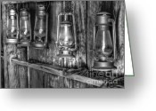 Gold Rush Greeting Cards - Bodie Lanterns Greeting Card by Scott McGuire