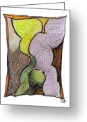 Metis Art Greeting Cards - Body 24 Greeting Card by Dan Daulby