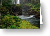 Big Island Greeting Cards - Boiling Pots Greeting Card by Kelly Wade