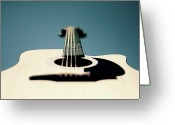 String Instrument Greeting Cards - Bokeh String Greeting Card by George Bentley Photography