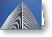 Building Detail Greeting Cards - Bold Greeting Card by Kelley King