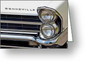 Fifties Automobile Greeting Cards - Bonneville Greeting Card by Robert Harmon