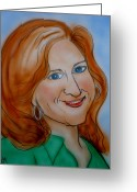 Rait Greeting Cards - Bonnie Rait Greeting Card by Pete Maier