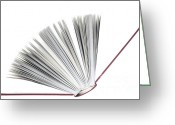Press Greeting Cards - Book Greeting Card by Frank Tschakert