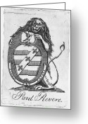 Paul Revere Greeting Cards - Bookplate: Paul Revere Greeting Card by Granger