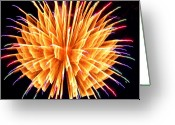 4th Greeting Cards - Boom Greeting Card by Diane E Berry