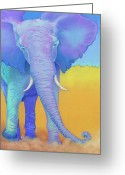 Protected Greeting Cards - Born of Wisdom Greeting Card by Tracy L Teeter
