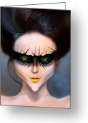 Womanly Greeting Cards - Born This Way Greeting Card by Yosi Cupano