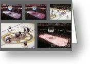 Td Greeting Cards - Boston Bruins Greeting Card by Juergen Roth