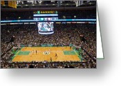 Td Greeting Cards - Boston Celtics Greeting Card by Juergen Roth