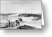 Charlestown Greeting Cards - Boston: Charlestown, 1776 Greeting Card by Granger