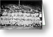 Athlete Greeting Cards - Boston Red Sox, 1916 Greeting Card by Granger