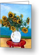 Royal Gamut Art Greeting Cards - Bouquet of Beauty Greeting Card by Tom Roderick