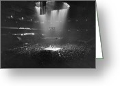 North Photo Greeting Cards - Boxing Match, 1941 Greeting Card by Granger