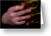 Brass Instruments Greeting Cards - Brass Buttons Greeting Card by Steven  Digman