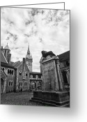 Benjamin Matthijs Greeting Cards - Braunschweig castle Greeting Card by Benjamin Matthijs