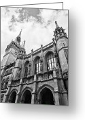 Benjamin Matthijs Greeting Cards - Braunschweig city hall Greeting Card by Benjamin Matthijs