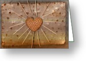 Toothpicks Greeting Cards - Bread  Sunshine And Love Greeting Card by Pepita Selles