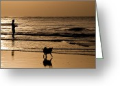 South Carolina Beach Greeting Cards - Breakfast Greeting Card by Melissa Wyatt