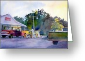 Scottsville Greeting Cards - Breakfast Greeting Card by Raymond Cloutier