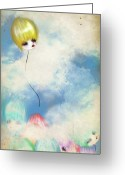 Jessica Grundy Greeting Cards - Breaking Away Greeting Card by Jessica Grundy