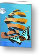 Ellenisworkshop Greeting Cards - Breaking Dawn Greeting Card by Eric Kempson