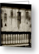 Wind Chimes Greeting Cards - Breathe Deep the Gathering Gloom Greeting Card by RC DeWinter