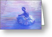 Stage Pastels Greeting Cards - Breathing Space Greeting Card by Regina Levai