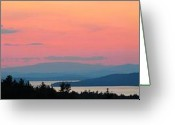Print Landscape Greeting Cards - Breathtaking Greeting Card by Darlene Keeffe