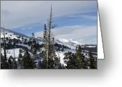 "\""colorado Resort\\\"" Greeting Cards - Breckenridge Resort in Summit County Colorado Greeting Card by Brendan Reals"