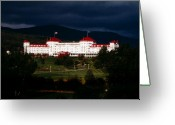 Mt. Washington Greeting Cards - Bretton Woods Greeting Card by Greg Fortier