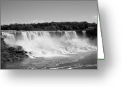 Veil Greeting Cards - Bridal Veil Falls At Niagara Falls Greeting Card by Stephanie Fysh