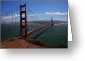 San Francisco Greeting Cards - Bridge of Dreams Greeting Card by Laurie Search
