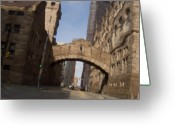 County Jail Greeting Cards - Bridge of Sighs Greeting Card by Jay Ressler