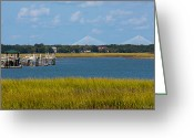 Bonnes Eyes Fine Art Photography Greeting Cards - Bridge over Folly Waters Greeting Card by Bonnes Eyes Fine Art Photography