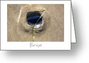 Beach Art Greeting Cards - Bridge Greeting Card by Peter Tellone