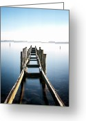 Denmark Greeting Cards - Bridge Greeting Card by Www.henrikhansen.nu