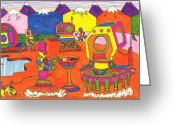 Bright Drawings Greeting Cards - Bright Future Greeting Card by Larry Oldham