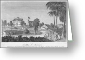 1823 Greeting Cards - British Guiana: Slavery Greeting Card by Granger