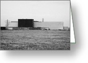 Establishment Greeting Cards - british ministry of defence vulcan naval reactor test establishment dounreay Scotland Greeting Card by Joe Fox